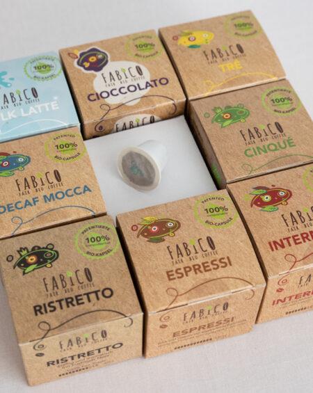FABICO Coffee. Aus der Natur – zurück in die Natur